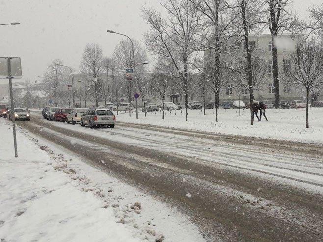 Stanje na putevima - snijeg - Foto: RTRS
