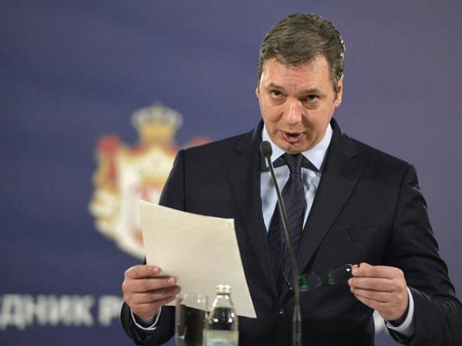 Aleksandar Vučić (Foto:Tanjug / Rade Prelić) -