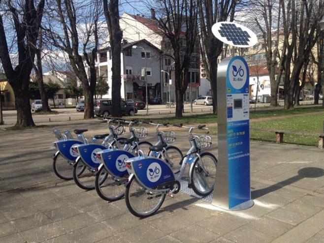 Banjaluka: Јavno iznajmljivanje bicikla - Foto: RTRS