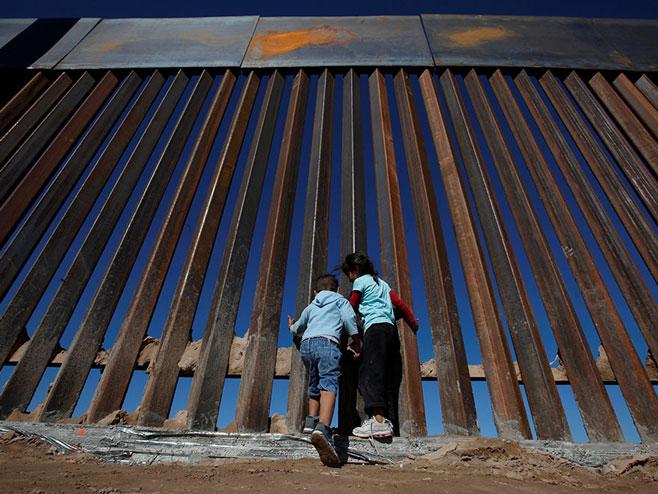 Zid na granici SAD-a i Meksika - Foto: AFP