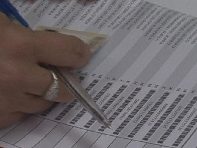 Izbori, glasanje - Foto: RTRS