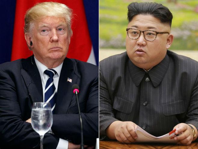 Donalad Tramp i Kim Džong-un - Foto: AP