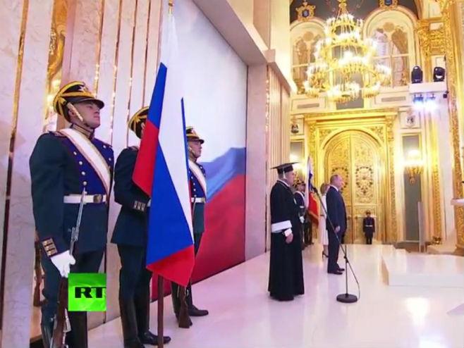 Inauguracija Vladimira Putina - Foto: Screenshot
