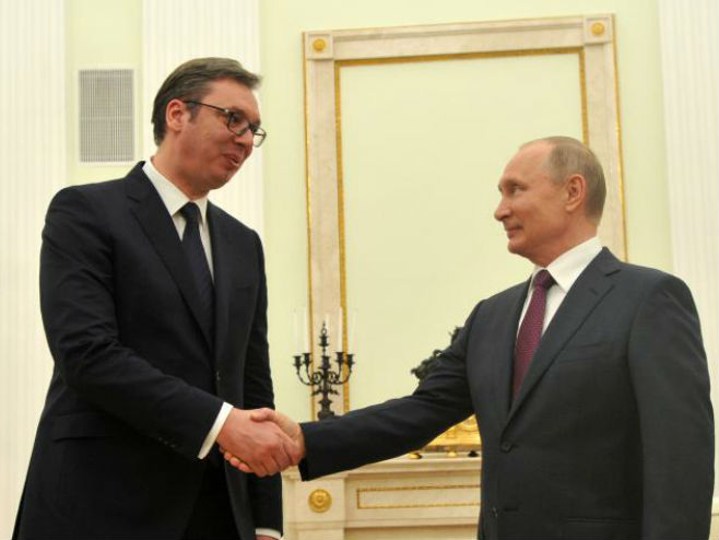 Sastanak Vučić-Putin - Foto: TANЈUG