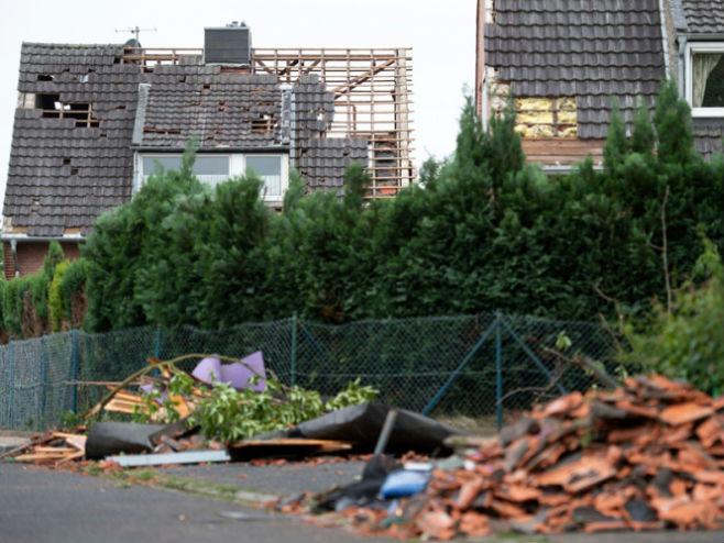 Tornado u Njemačkoj - Foto: TANЈUG