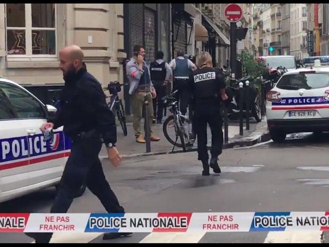 Talačka kriza u Parizu (foto: twitter.com/MatMichal) -