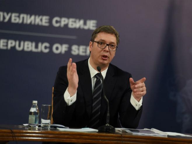 Aleksandar Vučić (Foto: Dragan Kujundžić/Tanjug) -