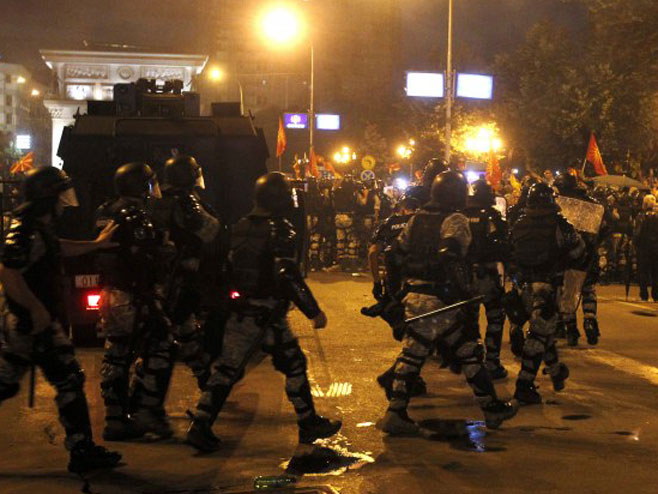 Protesti u Skoplju - Foto: B92