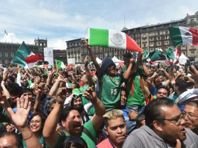 Slavlje meksičkih navijača - Foto: AFP