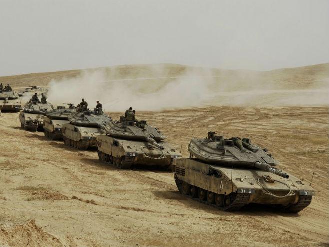 Izraelski tenkovi (Foto: Israeli Defense Forces) -