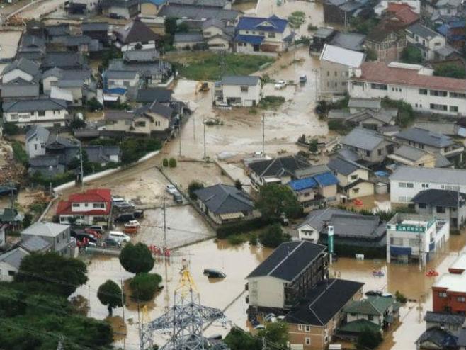 Poplave u Јapanu - Foto: AFP