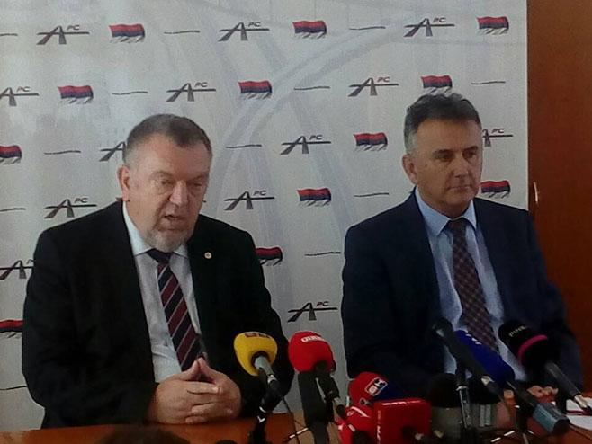 Neđo Trninić i Dušan Topić - Foto: RTRS