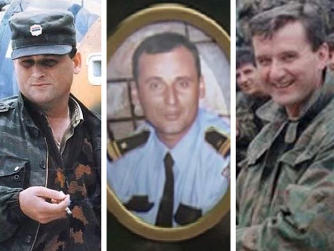 Mauzer, Marković i Knežević (Foto: srpskainfo.com) -