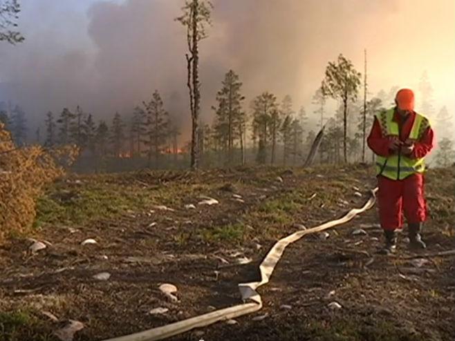 Požari u Švedskoj - Foto: Screenshot