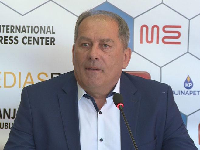 Dragan Mektić - Foto: RTRS