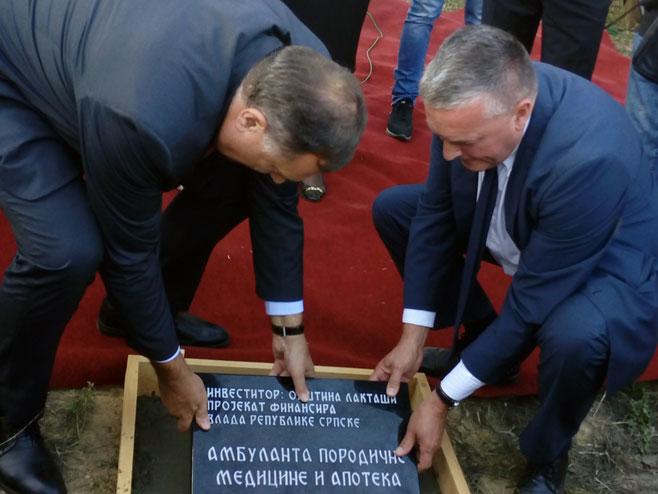 Dodik i Karapetrović - Foto: SRNA