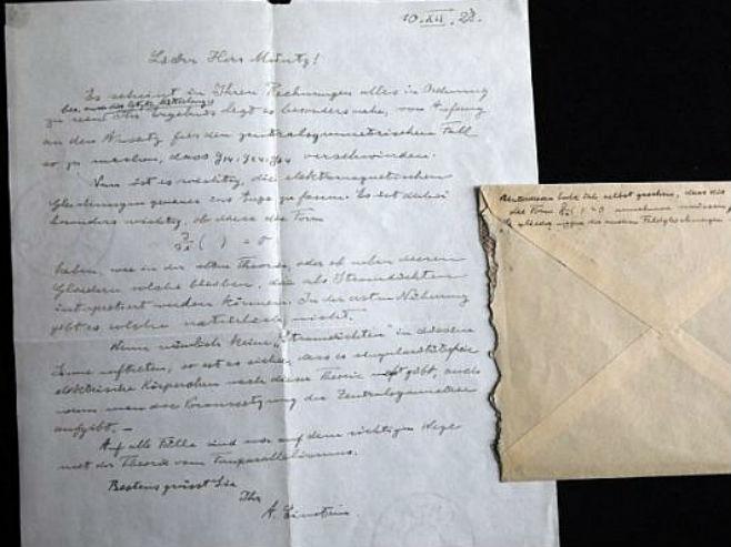 "Ajnštajnovo ""Pismo o Bogu"" - Foto: AFP"