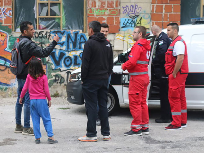 Migranti u Bihaću - Foto: klix.ba
