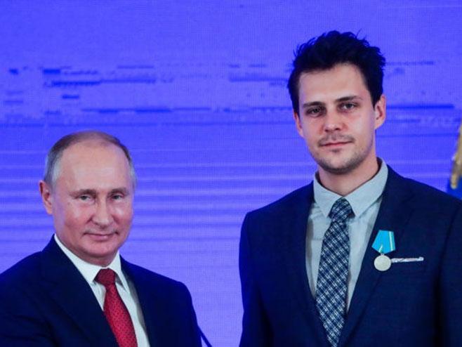 Vladimir Putin i Miloš Biković - Foto: Getty Images