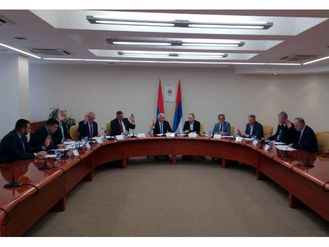 Sastanak predstavnika parlamentarnih stranaka - Foto: RTRS