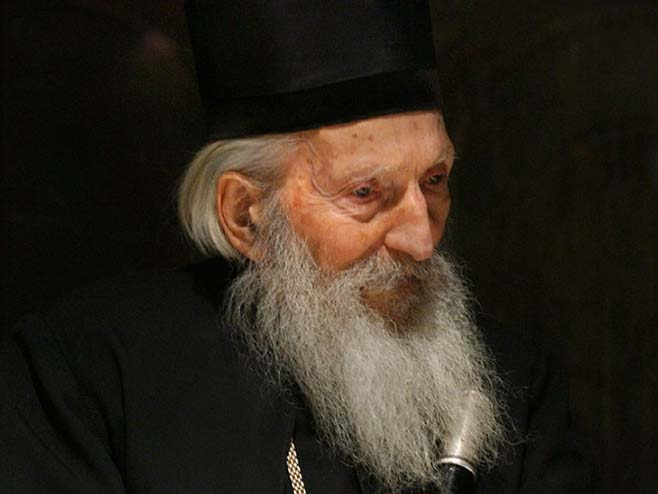 Patrijarh Pavle (Foto: serbskoeslovo.ru) -