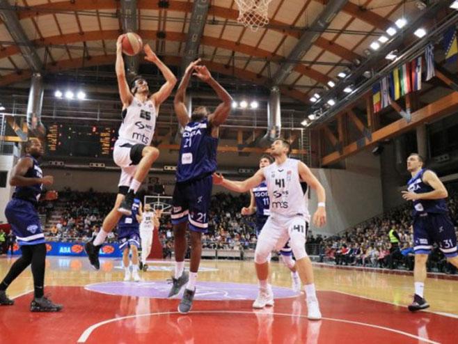 Igokea - Partizan (Foto: ABA league/Igokea/Nenad Vuruna) -