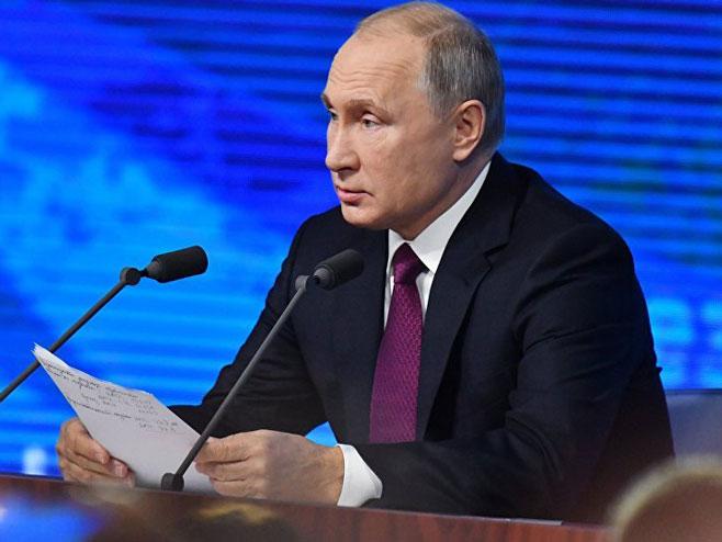 Vladimir Putin (Foto: Sputnik / Natalya Seliverstova) -
