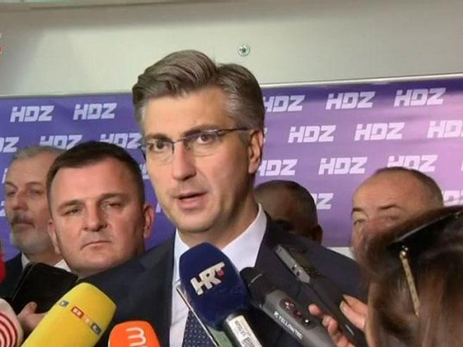 Andrej Plenković - Foto: HRT