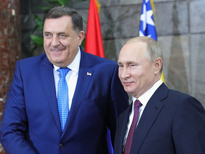 Uskoro susret Dodika i Putina 132875