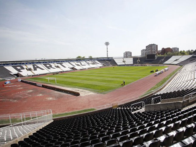 Stadion Partizana u Humskoj - Foto: RTS