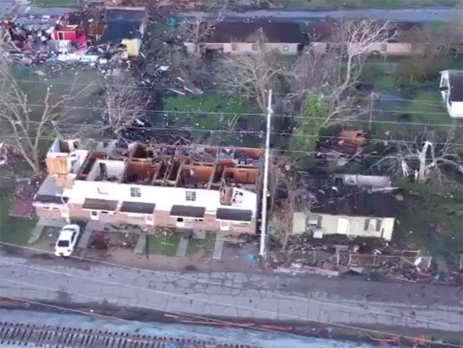 Oluja u Misisipiju napravila pustoš - Foto: Screenshot