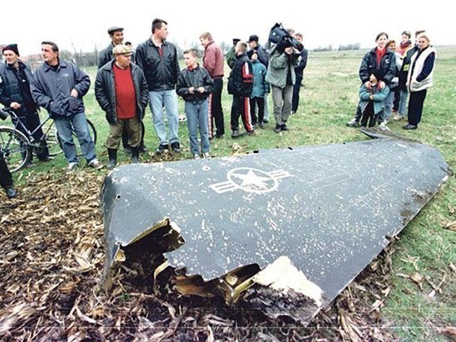 Dijelovi oborene letelice - Foto: RTS