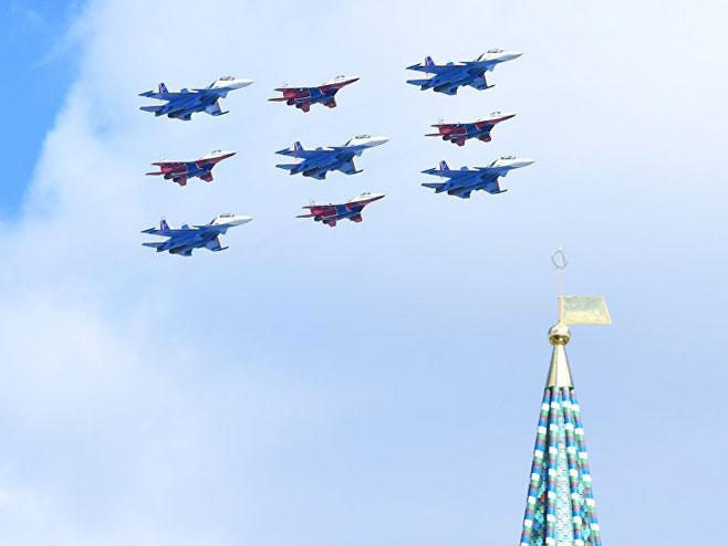 Vojna sila Rusije na ulicama Moskve  (Foto:Sputnik/Alekseй Kudenko) -
