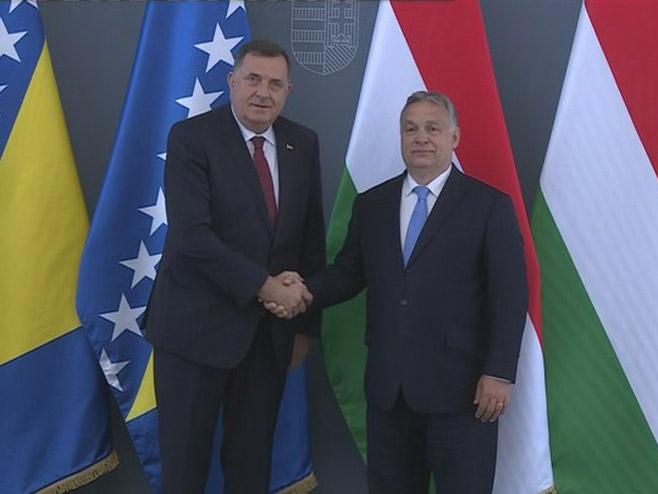 Dodik-Orban - Foto: RTRS