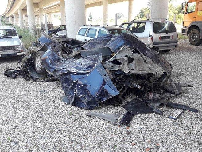 Srbac, nesreća - Foto: RTRS
