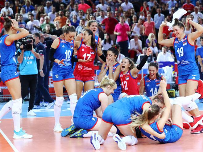 Odbojkašice Srbije (foto: CEV) -