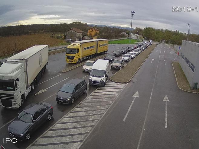 Granični prelaz Gradina (foto:amsrs) -