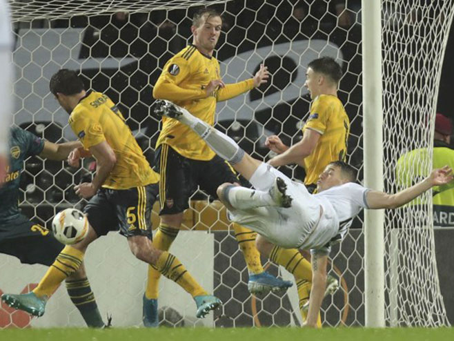 Arsenal - Vitorija (foto:Tanjug/AP Photo/Luis Vieira) -