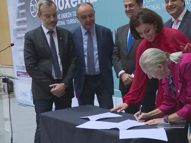 Potpisivanje sporazuma - Foto: RTRS