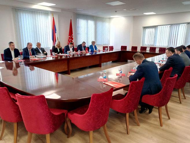 Banjaluka: SNSD sjednica izvršnog komiteta - Foto: SRNA