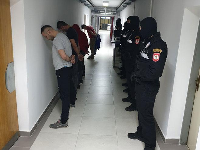 Hapšenje u Banjaluci - Foto: RTRS