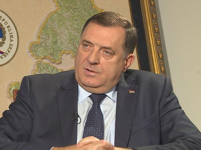 Milorad Dodik u emisiji Telering - Foto: RTRS