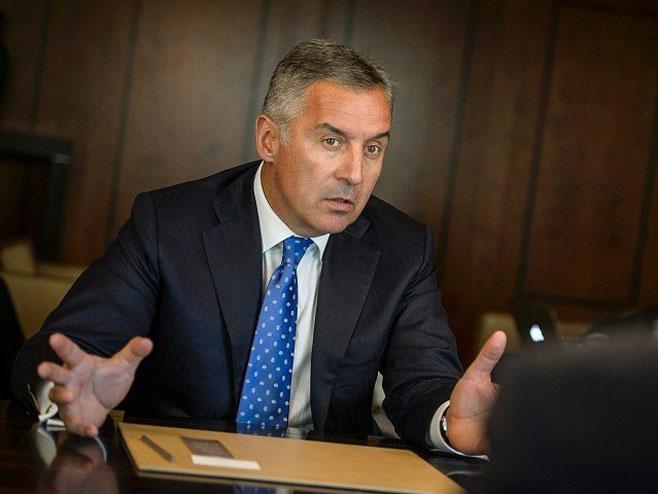 Predsjednik Crne Gore Milo Đukanović (foto:rtcg.me) -
