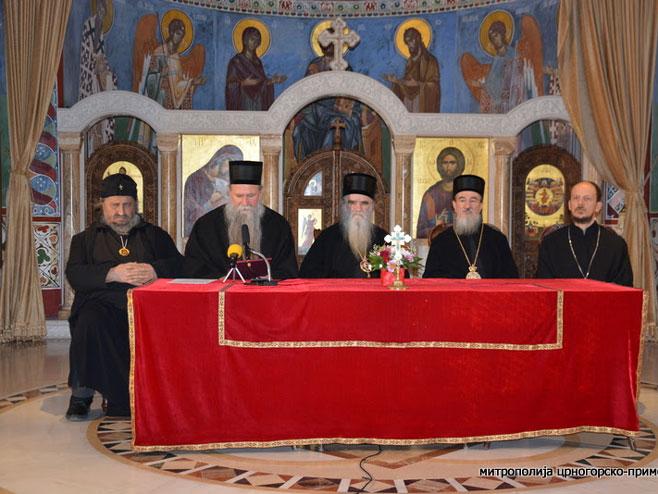 Episkopski savjet SPC u CG - Foto: RTRS