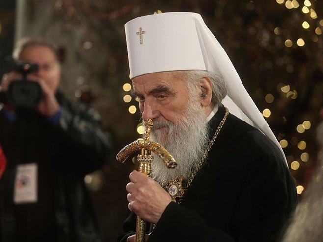 Patrijarh Irinej (Foto:Siniša Pašalić/RAS Srbija) -