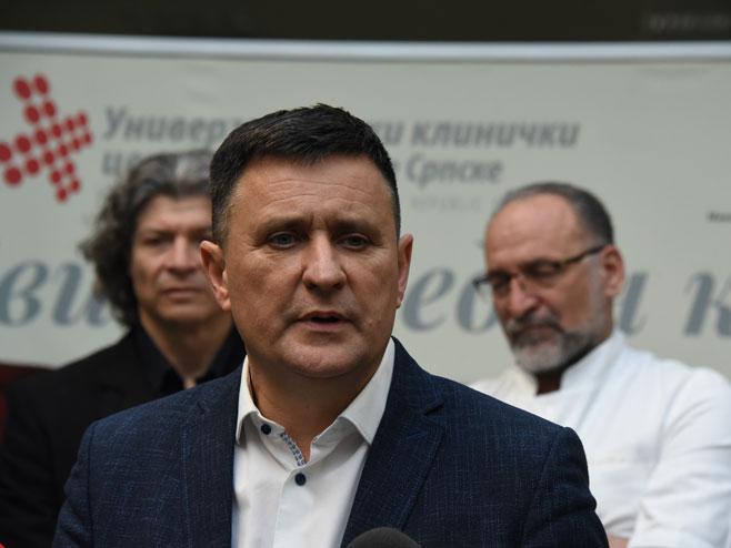 Generalni direktor UKC Republike Srpske Vlado Đajić - Foto: SRNA