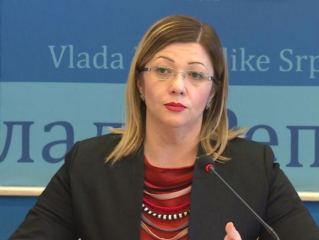 Ministarka Lejla Rešić - Foto: RTRS
