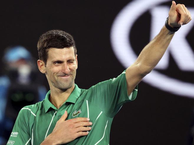 Novak Đoković (foto:AP Lee Jinman) -