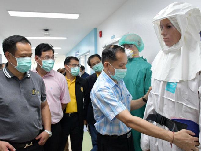 Tajlandski doktori izliječili dvoje pacijenata iz Vuhana - Foto: AFP