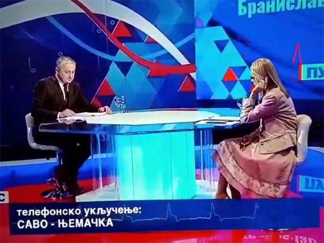 Poziv na ubistvo Milorada Dodika na BNTV-u! (Foto: RTVBN / screenshot) -